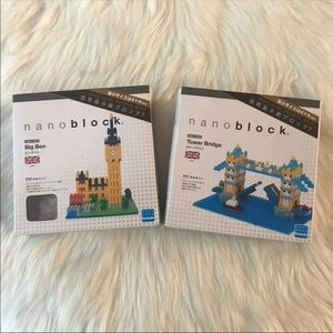 nanoblock UK Tower Bridge & Big Ben